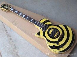 $enCountryForm.capitalKeyWord UK - Wholesale - G Zakk Wyld Custom left hand electric guitar black Yellow