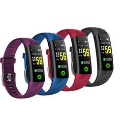 $enCountryForm.capitalKeyWord NZ - Smart Bracelet S5 Android IOS Heart Rate Sleep Monitor Fitness Tracker Blood Pressure Watch Waterproof Color Screen Sports Band