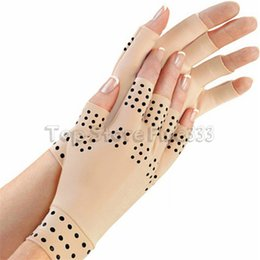 Luvas de compressão da artrite com ímãs por EasyComforts Fonte exterior do jogo das luvas dos esportes em Promoção