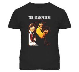 Опт Канадская рок-группа 70-х икон Стампедерс футболка