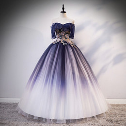 belle cosplay dress Canada - 100%real navy slash collar rococo ball gown medieval dress Renaissance Gown queen cosplay Victorian Marie Belle