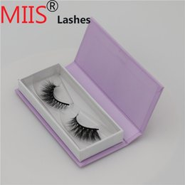 False Eyelashes Retail Package Australia - Wholesale and retail top quality private label 3D mink false eyelashes and custom eyelash packaging