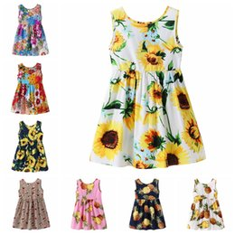 $enCountryForm.capitalKeyWord Canada - 8 styles Summer baby girls beach skirt baby clothes children's floral skirts women baby sleeveless dress