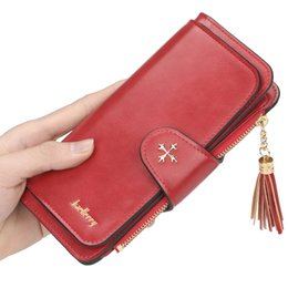 $enCountryForm.capitalKeyWord UK - Women's wallet long section 2019 multi-color card position multi-function oil wax leather clutch bag card package