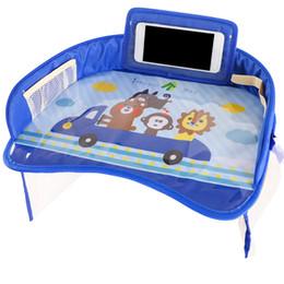 $enCountryForm.capitalKeyWord Australia - Multifunction Infant Car Safety Seat Tray Cartoon Pattern Durable Waterproof Plate Easy Install Stroller Drawing Tablet