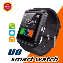 $enCountryForm.capitalKeyWord Australia - Bluetooth Smart Watch U8 Wireless Touch Screen Smart Watch with SIM Card Slot for Android IOS Phone smart bracelet fitness tracker