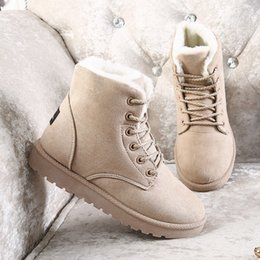 $enCountryForm.capitalKeyWord NZ - New Designer 5 Colors Australian Snow Boots Cheap Lace Up women winter Ankle Boots Free Shipping
