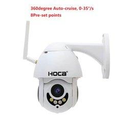 Умный беспроводной и проводной как поддержка PTZ купольная камера с макс. разрешением 1080p 2-мегапиксельная мини 2,5-дюймовый 2,8-12мм.128G SD два способа голос