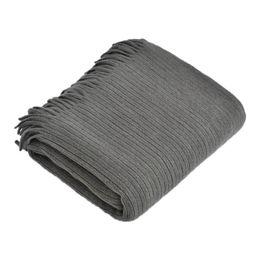 $enCountryForm.capitalKeyWord UK - Nordic Style Knitted Stripe Throw Blanket White Pink Grey Tassel Blanket for Sofa Bed Travel Airplane Home Decoration Coberto