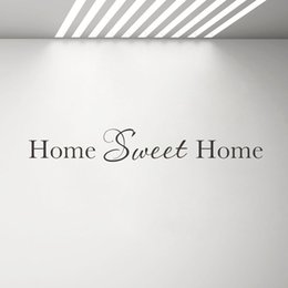 $enCountryForm.capitalKeyWord Australia - Home Sweet Home Wall Decal Decoration Vinyl Wall Quote Stickers Living Room Decor Removable Family Lettering Sticker G493