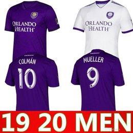 633d83eaadc 2019 2020 NEW MLS Orlando City Nani soccer jersey 19 20 J.MENDEZ MUELLER  COLMAN DWYER KLJESTAN PATINO football shirts
