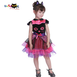 $enCountryForm.capitalKeyWord UK - ostumes Accessories Cosplay Costumes Eraspooky 2-4T Cute Cat Tutu Dress Girls Animal Halloween Costume for kids Miss Kitty Toddler Cospla...