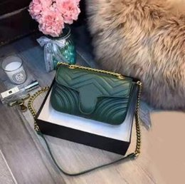 Toptan satış 2019 sıcak satış kadın tasarımcı çanta lüks crossbody haberci omuz çantaları zincir çanta kaliteli pu deri cüzdanlar bayanlar çanta