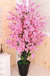 $enCountryForm.capitalKeyWord Australia - Product detail Artificial tree+ flowerpot peach flower fake tree potted DIY