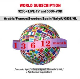 Ios box tv online shopping - IP Box Subscription Suppot Europe France UK USA Canada Netherlands For Android TV BOX iOS Smart TV Mag Box M3U x96 mini
