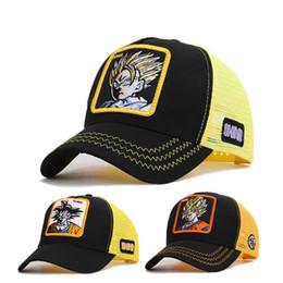 Anime drAgon bAlls online shopping - Fashion Anime Seven Dragon Ball Sun Wukong Baseball Net Cap Summer Baseball Hat Sunshade Sun Hat Embroidered Printing Cap