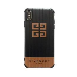 $enCountryForm.capitalKeyWord UK - GV Designer Phone Case with Logo for IPhoneXR XSMAX XS IPhone7 8plus IPhone7 8 IPhone6 6s IPhone6 6sPlus Golden Black Luxury Iphone Case