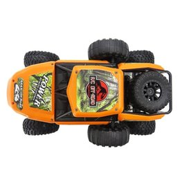 red flash drive UK - Off-road 25 Km   H 1:14 High Speed Climbing Truck 4 Wheels Drive 2.4GHz Remote Control Toys Monster Truck