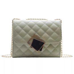 $enCountryForm.capitalKeyWord Australia - Cheap and practical small square bag Lingge chain shoulder bag designer luxury handbags fashion simple shoulder Messenger bag
