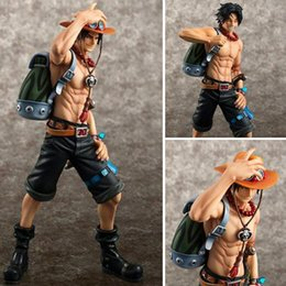Portgas D Ace Figure Australia - 23cm Anime One Piece figures Portgas D Ace 10th anniversary special edition PVC action figure collection model toys for boy gift