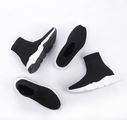 2020 Nuovo ad alta velocità qualità Trainer di lusso degli uomini Donne Y Designer Sneakers Nero Bianco Piattaforma SCARPE casual Calzino Runner in Offerta