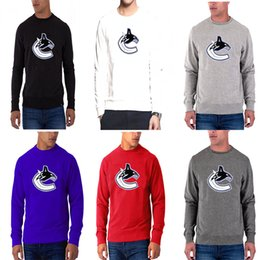 Name t shirts online shopping - New season Men s Vancouver Canucks Any Name Any Number Red Dassler climalite Performance Long Sleeve Raglan hockey T Shirt