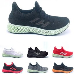 ash sneakers sizing Canada - 2019 Futurecraft 4D Running Shoes For Men Women Ash Green Triple Black White Red Mens Designer Trainer Sport Sneaker Size 38-47