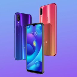 Mtk Mobiles Australia - Global Version Xiaomi Mi Play 4GB RAM 64GB ROM 5.84'' FHD Display MTK Helio P35 Octa Core 12MP Dual Cameras Mobile Phone Xiaomi Pl