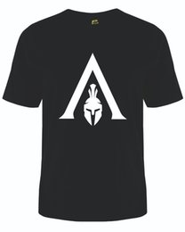 Assassin Kids UK - Assassins Creed T-Shirt Gaming Tee Video Games Top Kids & Adult sizes Funny free shipping Casual tshirt