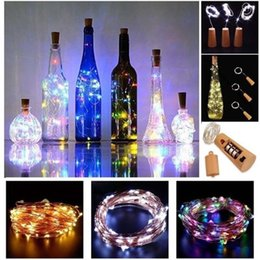 led strip lighting battery operated Australia - 3 Pack of Wine Bottle Cork Lights Copper Led Light Strips 20-MicroLED Wire Starry Rope Lamp Kit DIY Battery Operate