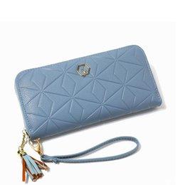 $enCountryForm.capitalKeyWord Australia - New ladies long wallet fashion large capacity zipper wallet Korean version of the geometric pattern clutch bag quality assurance