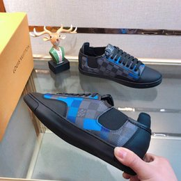 Hight Quality GUC CI Rhyton Retro Sneakers Platform Shoes 3fLOUIS VUITTON Men and Women Leather Sport Running Shoes Louis Luxury Loafers from woven leather sandals manufacturers