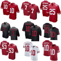 Sherman online shopping - San Francisco ers Richard Sherman Jimmy Garoppolo  Jersey Reuben Foster Joe Montana 3a9e1adf0