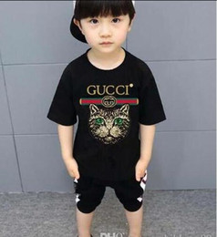 Tee TuTu online shopping - 2019 new Luxury summe Hot brand years old Baby boys girls T shirts r shirt Tops cotton children Tees kids Clothing colors oferde
