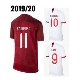4da3ce802 2019 20 ENGLAND SOCCER JERSEYS WORLD CUP HOME WHITE AWAY RED Camiseta De  Futbol JERSEY FOOTBALL SHIRTS Maillot De Foot