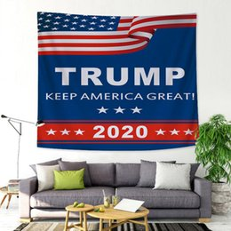 Printed backdroPs online shopping - Trump Tapestry Letter Printed Home Wall Decoration cm Styles Wall Background Backdrop Blanket LJJO7391