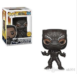 $enCountryForm.capitalKeyWord Australia - NEW New wholesales Funko POP Black Panther Vinyl Action Figure with Box #620 Collectible Toy Popular Gift Good Quality