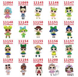 $enCountryForm.capitalKeyWord Australia - 209 style Cute Cartoon Girl Resin Planar Flatback Cabochons Baby Girl Resin Flat Back DIY Hair Bows Handmade Materials wholesale