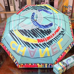 $enCountryForm.capitalKeyWord Australia - New Style Fully Automatic Umbrellas High Quality Workmanhsip Fashion Multicolor Painted Umbrellas Outdoor UV Protection Personality Parasols