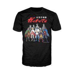 $enCountryForm.capitalKeyWord Canada - Gatchaman Alter Ego Line-Up Official Men's T-Shirt (Black) Battle of the Planets Funny free shipping Unisex Casual