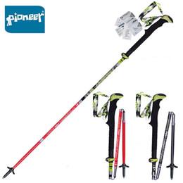 $enCountryForm.capitalKeyWord Australia - 2 Pack Pioneer Carbon Fiber Trekking Poles Ultralight Folding Collapsible Trail Running Hiking Walking Sticks Lightweight Canes