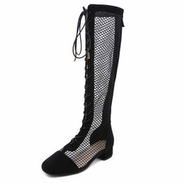 Chinese  2018 new fashion European and American style long tube boots cross foreign trade women's boots black ljj 0123 manufacturers