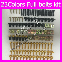 r1 fairing bolts Australia - Fairing screws Full bolts kit For YAMAHA YZFR1 16 17 18 YZF R1 YZF 1000 YZF1000 YZF-R1 2016 2017 2018 MC84 OEM Body Nuts bolt screw Nut kit