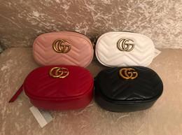Venta al por mayor de Saco principal cinturón de cinturón femme Paquete de la bolsa de las mujeres de lujo bolso de pecho de cuero bolso 2019 calidad fanny bolsas para mujeres