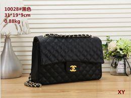 Rivets backpacks online shopping - Hot Woman Bag New Korean version fashion Chain High capacity Crossbody fashion Women Shoulder Bags B017