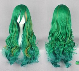 $enCountryForm.capitalKeyWord NZ - WIG shipping Yowamushi Pedal Yuusuke Makishima Yusuke Long Green Blue Brown Anime Cosplay Wig