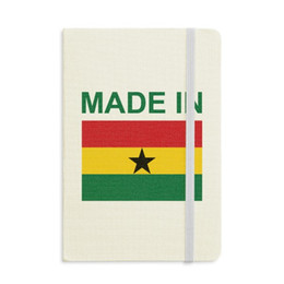 love notebooks Australia - Made In Ghana Country Love Notebook Fabric Hard Cover Classic Journal Diary A5