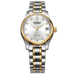 Wrist Watch Japan Movement Australia - High quality Japan automatic movement butterfly lock lady watch gold wrist watch