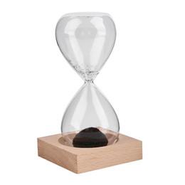 $enCountryForm.capitalKeyWord Australia - Magnet Hourglass Hand-blown Sand Timer Desktop Decoration Magnetic RT99
