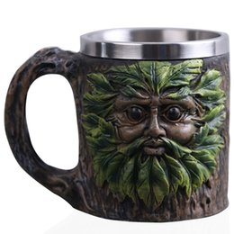 $enCountryForm.capitalKeyWord UK - Skull Mug Beer Coffee Mug Cup Tree Man Handcrafted Crafts For Halloween Christmas Fantasy Decoration Gift For Men Dad 420ml